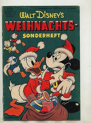 Micky Maus Sonderheft Nr. 8 Original 1953 Barks guter Zustand ( 2 )