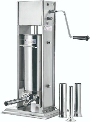 Stainless Steel 20 Lb. Sausage Stuffer Valley Sportsman T-1ass520