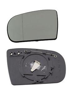 spiegelglas f r mercedes benz w210 au enspiegel ebay. Black Bedroom Furniture Sets. Home Design Ideas