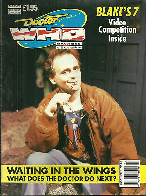 RARE - DOCTOR WHO Periodical #169 - SYLVESTER McCOY COVER - 1991 - FREE Shipping