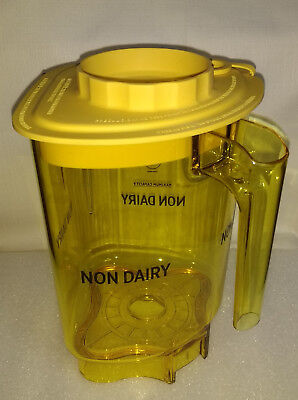 Vitamix Blending Station Advance Container Jar Non-dairy Yellow With Lid New 48
