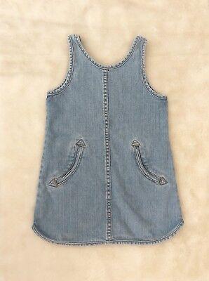 Stella McCartney Girls Denim Dress Size 6