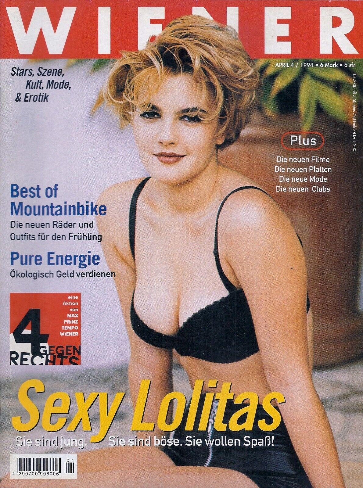 WIENER (4/1994) Männermagazin Österreich / Sexy Lolitas / Vintage 1990er Girls