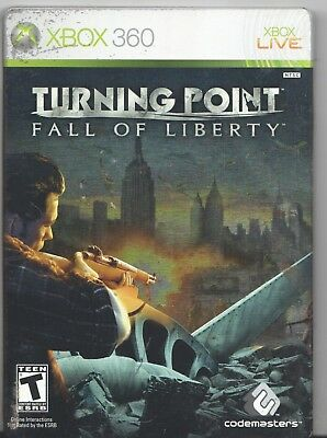 Video Game - Microsoft Xbox 360 - TURNING POINT FALL OF LIBERTY Limited Edition for sale  Dalton
