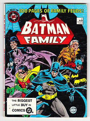 BEST OF DC BLUE RIBBON DIGEST #51 1984 BATMAN FAMILY NEAL ADAMS ART VERY