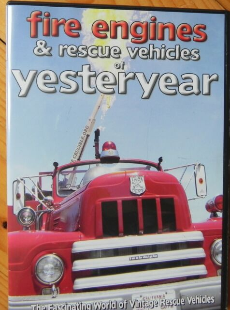 FIRE ENGINES AND RESCUE VEHICLES OF YESTERYEAR DVD