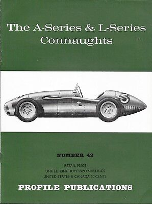 Profile Publications No.42 THE A-SERIES & L-SERIES CONNAUGHTS Paperback c.1967