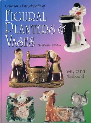 Figural Ceramic Planters Vases - Makers Marks Values / Scarce Book