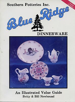 Blue Ridge Southern Pottery Dinnerware Patterns Marks Values