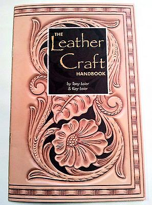 THE LEATHER CRAFT HANDBOOK 6009-00 Tandy Craft Learn Basics How to Book Books
