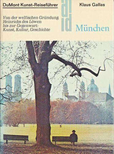 DuMont Kunst-Reiseführer: Klaus Gallas, München - Klappenbroschur - 1988 -