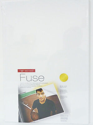Museo Fuse 13x19 25 Sheets Matte Inkjet Paper with Adhesive Backing