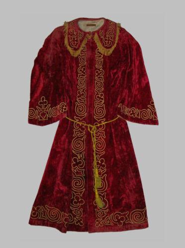 Old Antique Vtg C 1900s Odd Fellows IOOF Fraternal Tunic Nobel Grand Long Robe