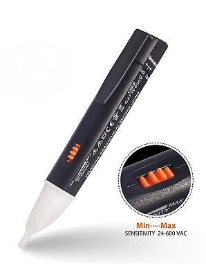 Non-contact Voltage Tester Electrical Voltage Detector Pen Adjustable 24v-600v