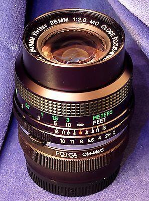 "Micro 4/3 adapted VIVITAR Close Focus 28mm f2 ""Komine"" - Manual Focus  –OM mount (Vivitar 28mm F2)"