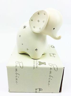 New Baby Elephant Moneybox Christening Gifts Girls Boys Keepsake Present
