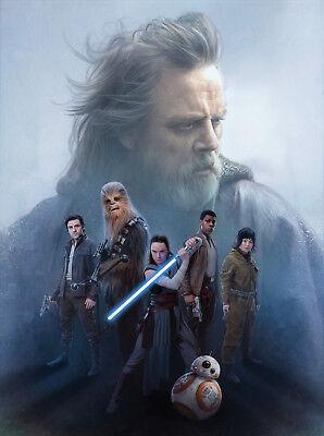 Daisy Ridley Mark Hamill The Last Jedi  8X10 Photo Picture Print