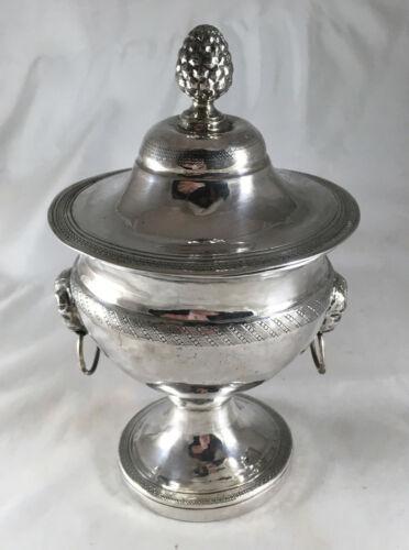 Italian Georgian Silver Sugar Vase 198g 14.4g EZX