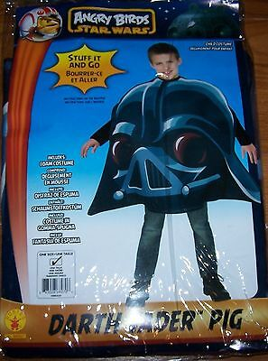 Pig Costume For Boy (One Size Angry Birds Star Wars Darth Vader Pig Child)