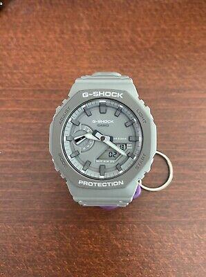"""Casio G-Shock """"Casioak"""" GA2110ET-8A Grey Carbon Core Ani-Digi Watch"""