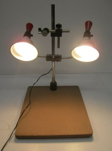 Vtg Testrite Instrument Co Copylight Model 23C Camera Photo Copy Lights Stand
