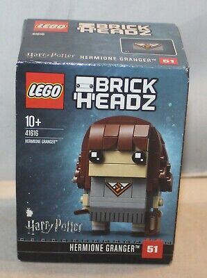 LEGO BrickHeadz 41616 Hermione Granger 127 Pcs New Sealed Harry Potter