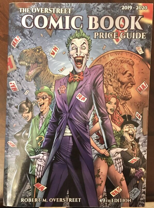 Overstreet Price Guide Softcover 49th Edition 2019-2020