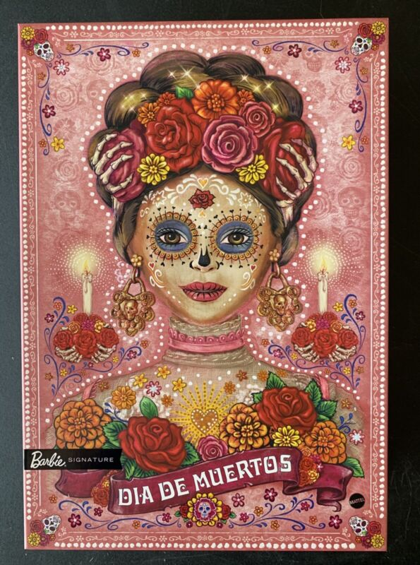 Barbie 2020 Dia De Los Muertos - Day of the Dead IN HAND AND READY TO SHIP FREE!