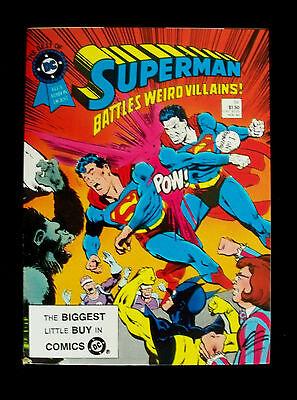 BEST OF DC BLUE RIBBON DIGEST #54 DC Comics 1984 SUPERMAN Battles Weird (Best Dc Comics Villains)