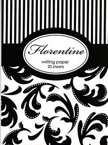 Florentine -  Writing Paper (Pad) and Envelopes