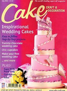 cake craft decoration magazine july 2013 inspirational On cake craft decoration magazine