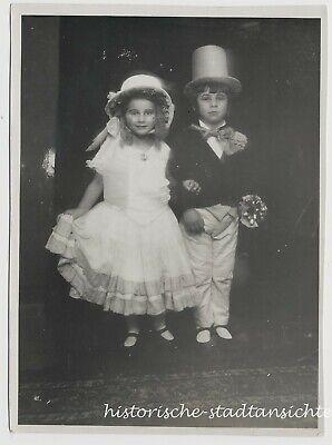 Mädchen und Junge im historischen Kostüm - Altes - Historische Personen Kostüme