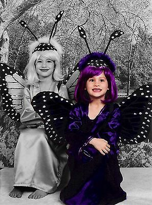 a HALLOWEEN GIRL'S PURPLE BUTTERFLY - Purple Butterfly Halloween Kostüm