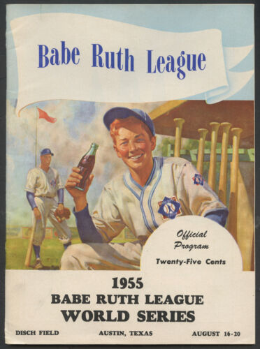 1955 Babe Ruth Little League World Series W/ Richard Nixon Photo