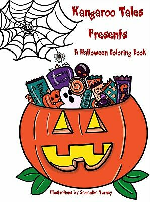 Halloween Coloring Page (Kangaroo Tales Presents a Halloween Coloring Book (31 Pages) by: Samantha)