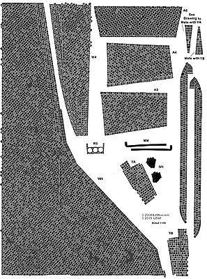 1/144 scale Shuttle Orbiter Standard Black Tile Decal Set