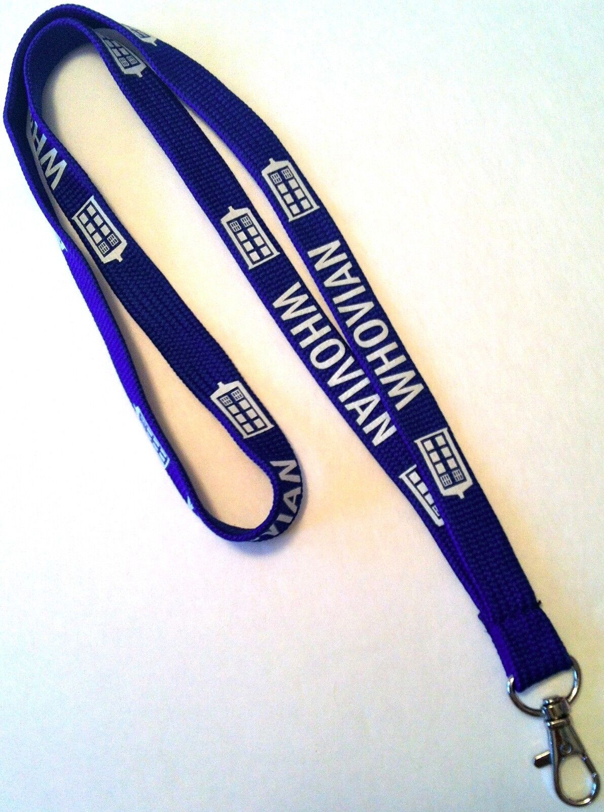 WHOVIAN Lanyard Fan Made inspired by Doctor Who