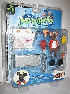 The Muppet Show Rizzo the Rat - Red Jacket - Palisades Figure MOSC