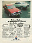 Datsun Australian Advertising Collectables