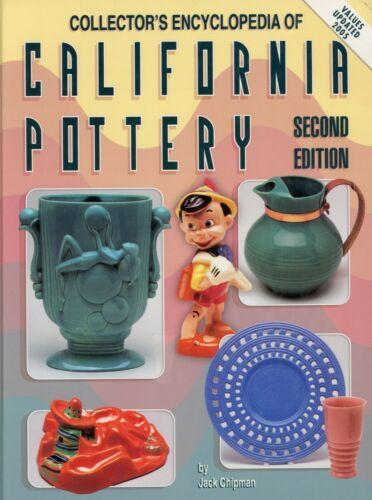 California Pottery - Catalina Bauer Metlox Franciscan Finch Etc. / Book + Values