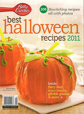 NEW! Betty Crocker 105 BEST HALLOWEEN RECIPES with Photos cINDEX Cup Cakes 2011](Halloween Recipe Cakes)