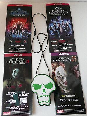 Halloween Horror Nights 25 Lanyard (HALLOWEEN HORROR NIGHT UNIVERSAL STUDIO LIGHT SKELETON LANYARD 25 26 27 28)