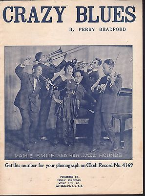 Crazy Blues 1920 Mamie Smith and Her Jazz Hounds