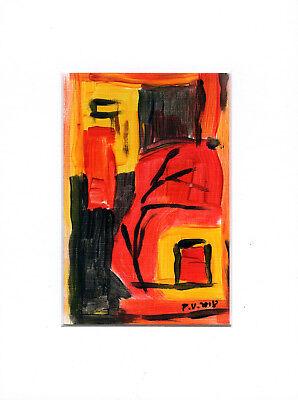 Abstrakte Malerei, Acryl 1802-3