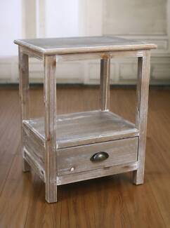Bedside Table Hamptons Night Stand