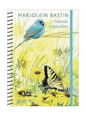 Marjolein Bastin 2020 Monthly/Weekly Planner Calendar: Nature