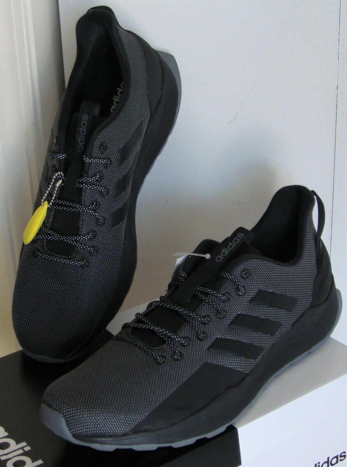 Men's Adidas Questar Trail Running Course Sneakers Shoes BB7
