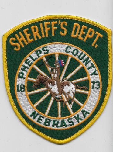 Phelps County Sheriff State Nebraska NE