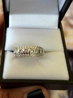 diamond wedding band or costume ring Chermside Brisbane North East Preview