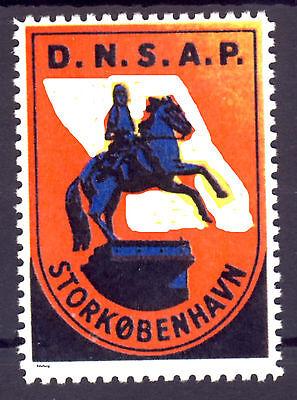 Dänemark D.N.S.A.P. Storkobenhavn (*) REPLICA Fälschung